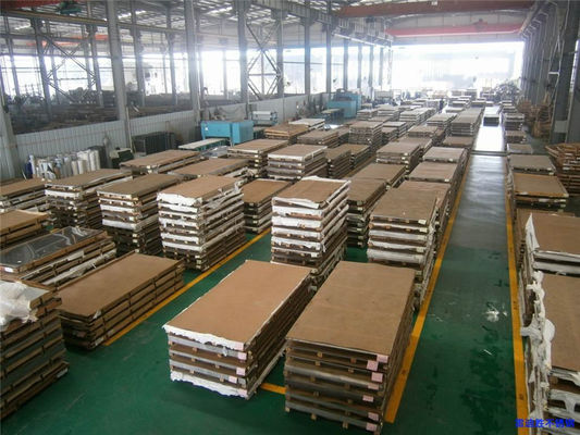 Cina Cold Rolled 304 2B Stainless Steel Sheets 4X8, Tebal Stainless Steel Plate pemasok