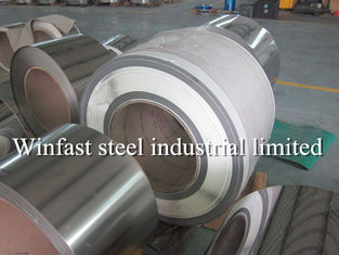 304 Cold Rolled Stainless Steel Coil Lebar 1219mm 1500mm Stainless Steel Strip Gulung