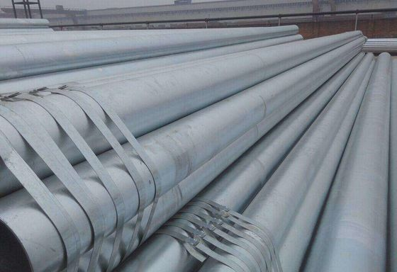 Hot Dipped Seamless Galvanized Steel Pipe Diameter 27 - 219mm Grade 1020 1045