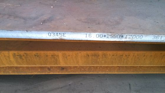 Grade S890QL Hot Rolled Steel Plate EN10025 Standar 6 - 200mm Tebal