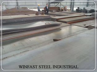 ASTM EN GB Standard Hot Rolled Steel Sheet 1000 - 2500mm Lebar