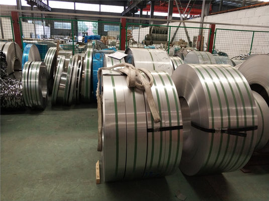 Cina Hot Rolled 304 / 1.4301 Strip Logam Stainless Steel 3MM Tebal NO.1 Finishing pabrik