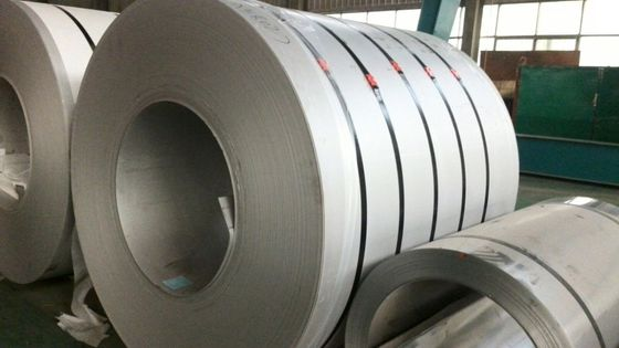 ASTM EN JIS 201 Kumparan Stainless Steel Sekunder Lebar 1500mm