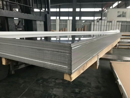 Grade 430 Cold Rolled Sheet Steel 2B Finish Dalam Ketebalan 4mm 4 Kaki 4mm