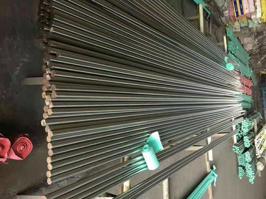 Cina Grade 201 304 316 Stainless Steel Round Bar Diameter 4 - 100mm Bright Bar SS Dipoles pabrik