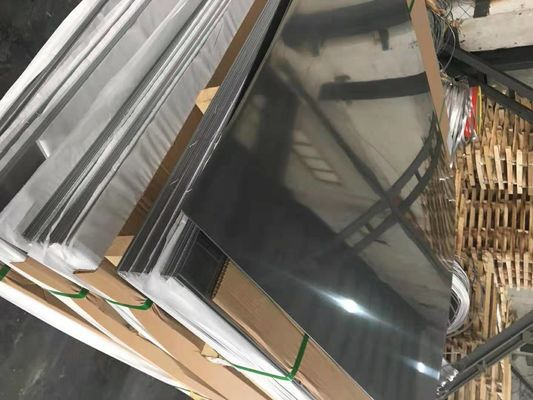 AISI304L Stainless Steel Sheets 4x8 Cold Rolled 0,6 - 3,0mm 2B SS Sheet
