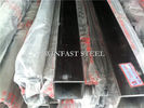 Struktur Welded Stainless Steel Pipe, Pipa Stainless Steel Lapangan pemasok