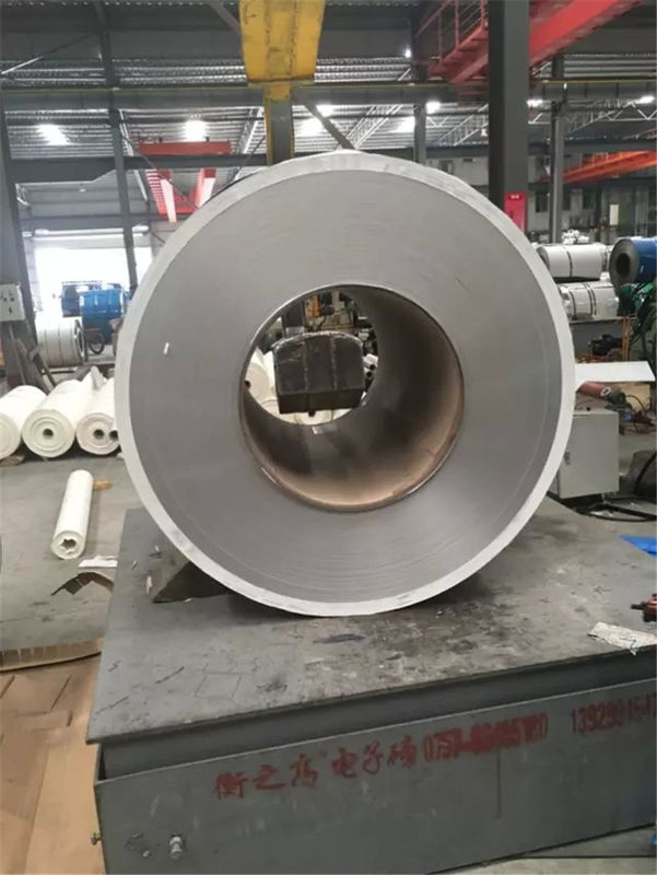 SS 304 Stainless Steel Strip Gulung BA 430 Stainless Coils Untuk Area Food pemasok