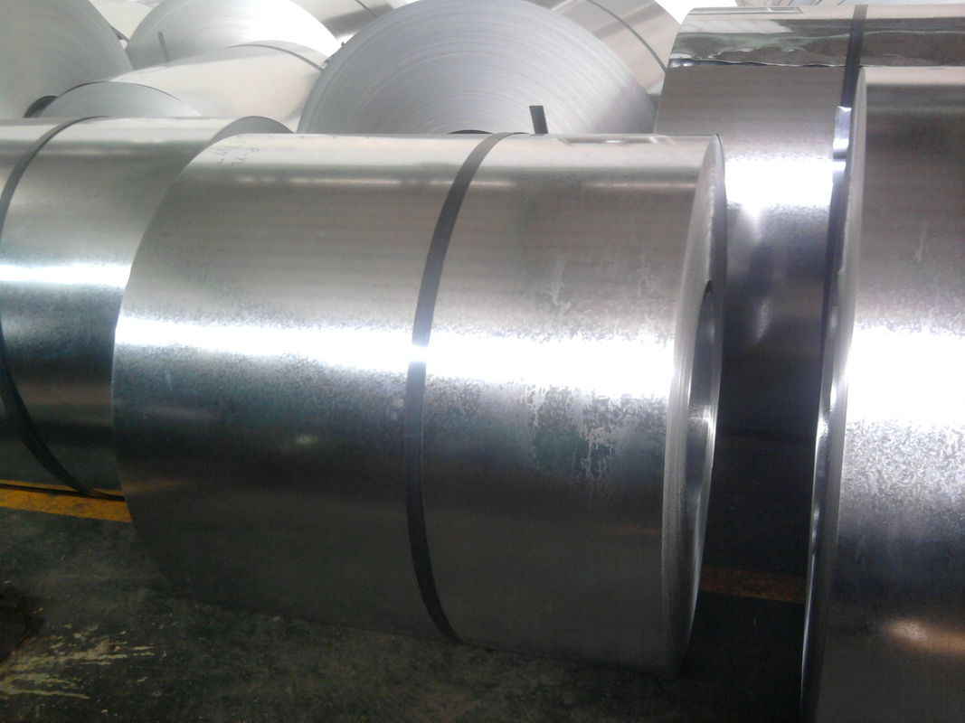 Regular Spangle / Zinc Coating Hot Dip Galvanized Steel Coils Cold Rolled pemasok
