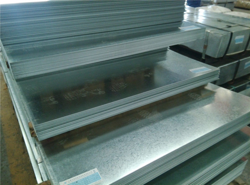 Hot mencelupkan G90 Galvanized Steel Sheet Coils 1.2mm Nol Spangle pemasok