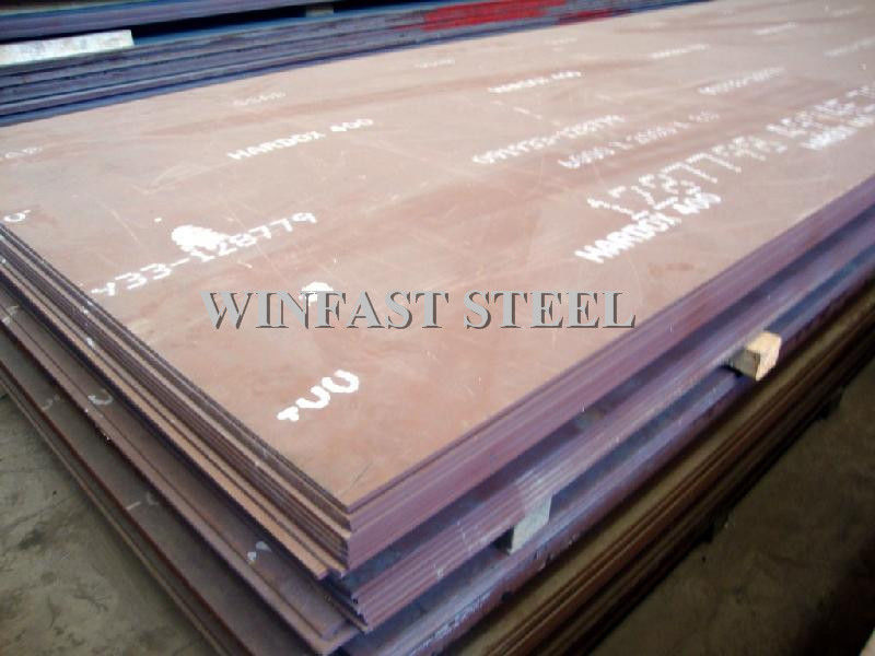 Lini Baja Hot Rolled / Steel 400/450/500/600 Steel Tempered pemasok