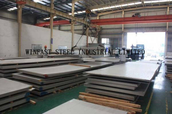 Hot Rolled 2507 Plat Baja Super Duplex UNS S32750 1.4410 1500 X 6000mm pemasok