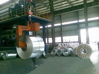 SPCC DX51D + Z Zinc Coating Galvanized Steel Sheet Coil Thickness 0.14mm - 1.2mm pemasok