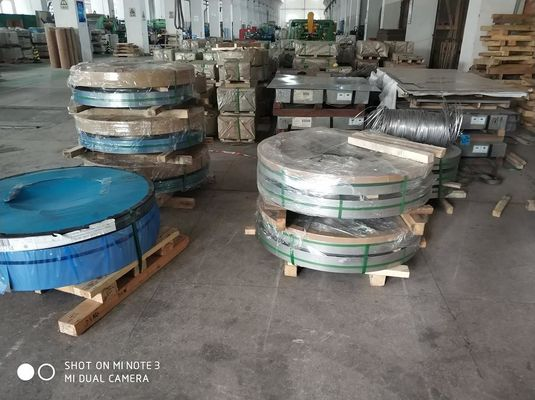 stainless steel strip logam